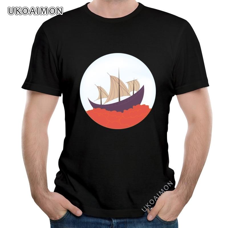 Горячая Распродажа Летящие Caravelle специальная объемная футболка для взрослых модная футболка натуральный хлопок вечерние футболки, способн...
