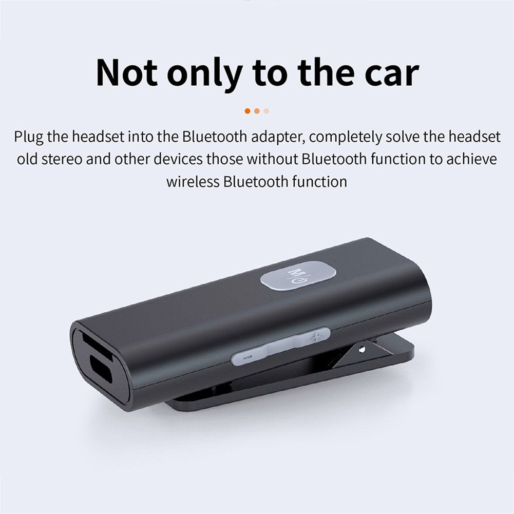 Bluetooth 5.0 Receiver Wireless Bluetooth Adapter for Headphones/Car/Home Stereo Noise-Reduction Microphone Support TF Card enlarge