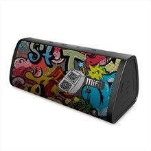 MIFA noir-Graffiti Bluetooth haut-parleur IPX5 étanche Bluetooth 4.2 sans fil haut-parleur Micro SD intégré Micro stéréo son TWS