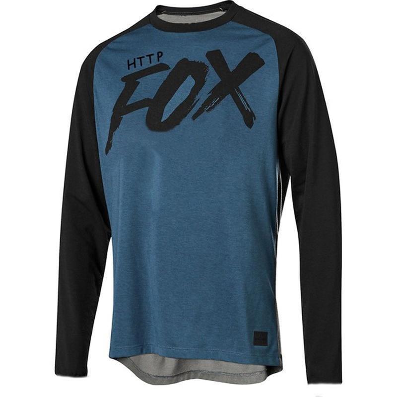 HTTP foxmtb-Camiseta de descenso para hombre de camiseta de amouflage para bicicleta...