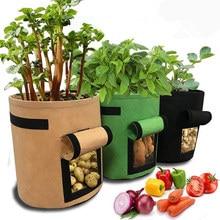 Sac de culture bricolage 3 couleurs   Planteur de jardin, Pot de fleur pour légumes, pommes de terre, Pot de jardin, sac de culture
