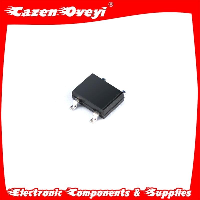 50 unids/lote ABS10 SOP-4 SMD rectificador puente pila IC chip