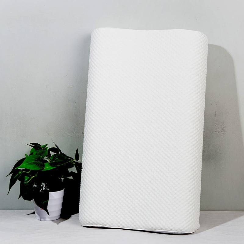 وسادة منزلية بشبكة ثلاثية الأبعاد ذات قوة الطبيعة برغوة العنقية للفراش ووسائد للنوم بتصميم منسوجات منزلية 60x35x9cm