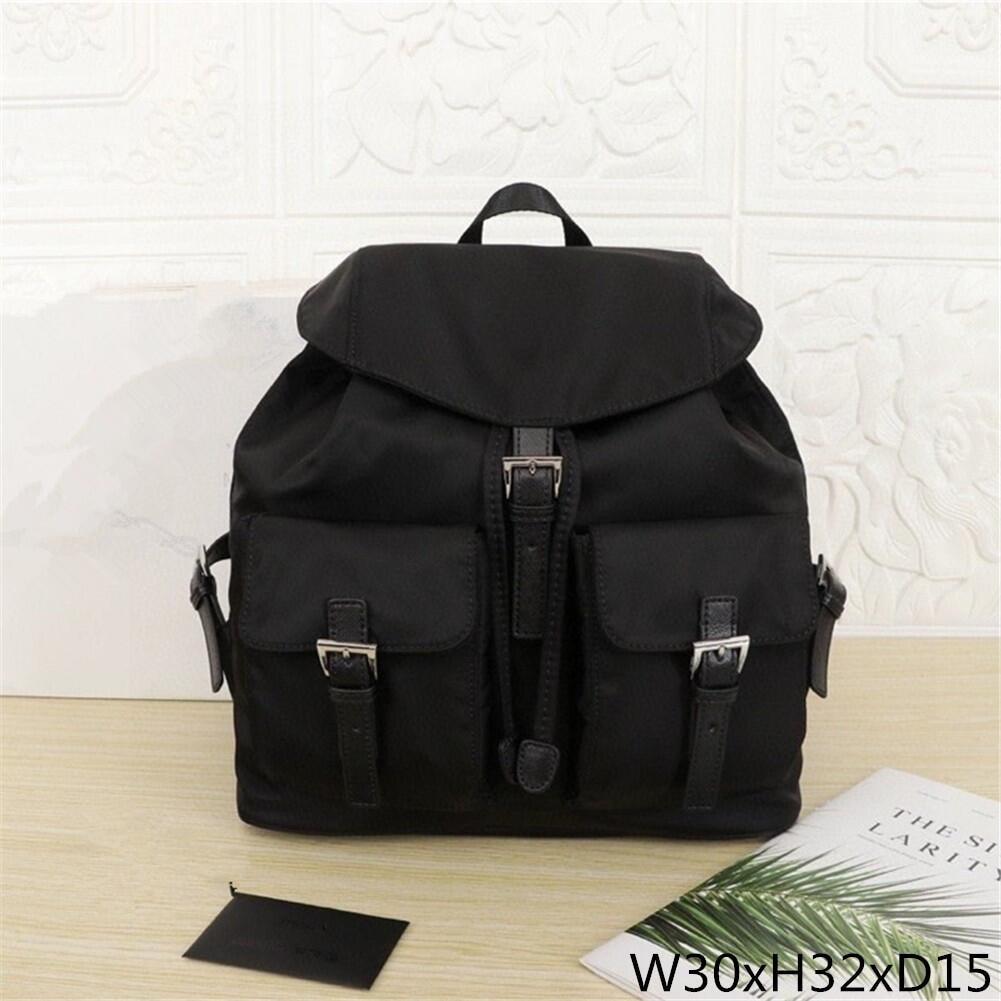 2020 مقاوم للماء النايلون على ظهره المرأة حقيبة الموضة على ظهره المرأة حقيبة السفر الصغيرة الكبيرة حقيبة كتف المرأة