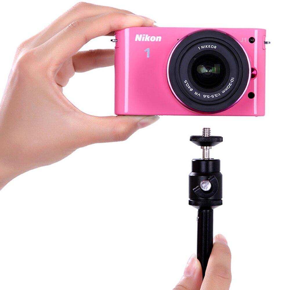 Selfie Stick set For GOPRO8/9 Extension Pole StickTripodFoldable Stabilizer Rod Monopod Phone Holder clip 1/4-inch Screw Mount