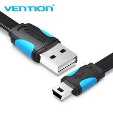 Мини USB кабель Vention, USB в мини usb кабель передачи данных для быстрой зарядки для цифровой камеры HDD MP3 MP4 плеер планшеты gps