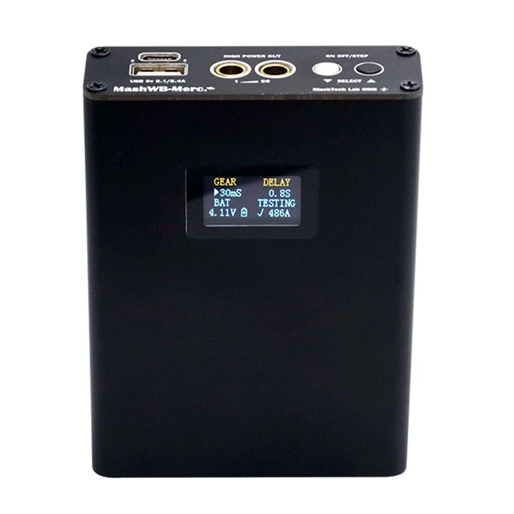 1 Set شاشة ديجيتال صغيرة بقعة لحام حافظة بطاريات يده بقعة أداة لحام متعددة الأغراض ألة لحام كهربائي