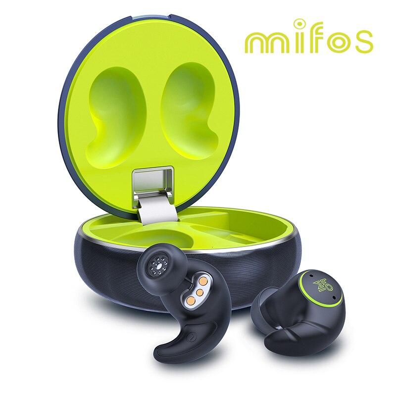 سماعات أذن لاسلكية, شحن من روسيا سماعات أذن Mifo S TWS ميني بلوتوث 5.1 سماعات أذن لاسلكية مقاومة للماء صوت ستيريو ثلاثي الأبعاد