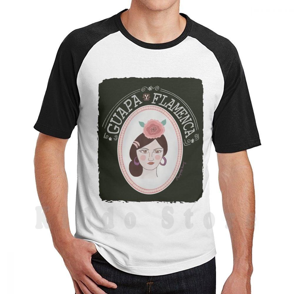 Camiseta de algodón para hombre, ropa bonita y Flamenco de Amapolas Moras,...