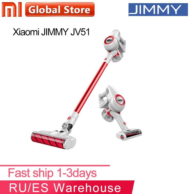 JIMMY JV51 palo inalámbrico de mano Filtro de aspiradora 115AW succión portátil inalámbrico ciclón Mi polvo de alfombras Collecto