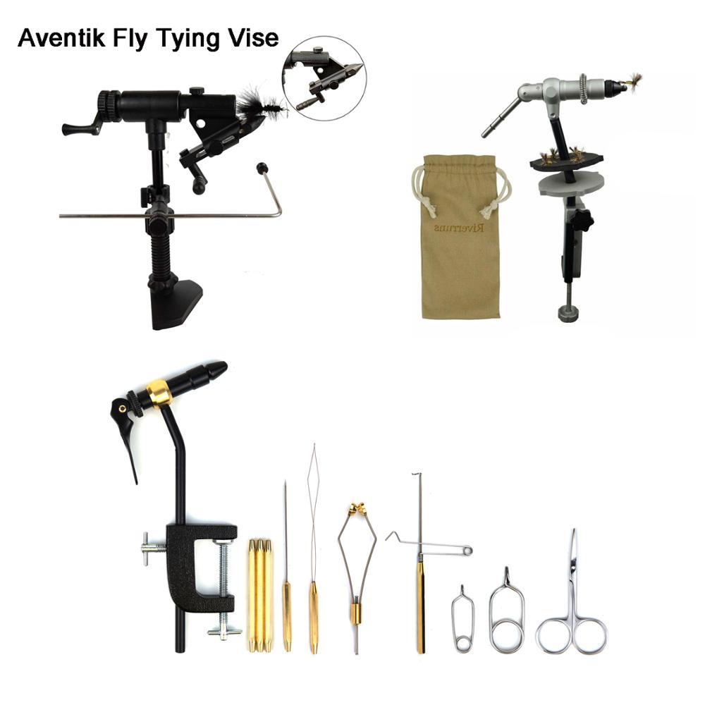 Aventik-رابط ذبابة من الألومنيوم ، جودة ، أداة ربط مع فك واحد ، حامل بكرة ، سوط ، أداة ربط