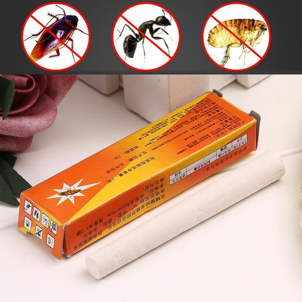 2 teile/paket Magie Insekten Stift Kreide Werkzeug Töten Kakerlake Kakerlaken Ant Läuse Floh Bugs Köder Lockt Schädlingsbekämpfung Insecticida