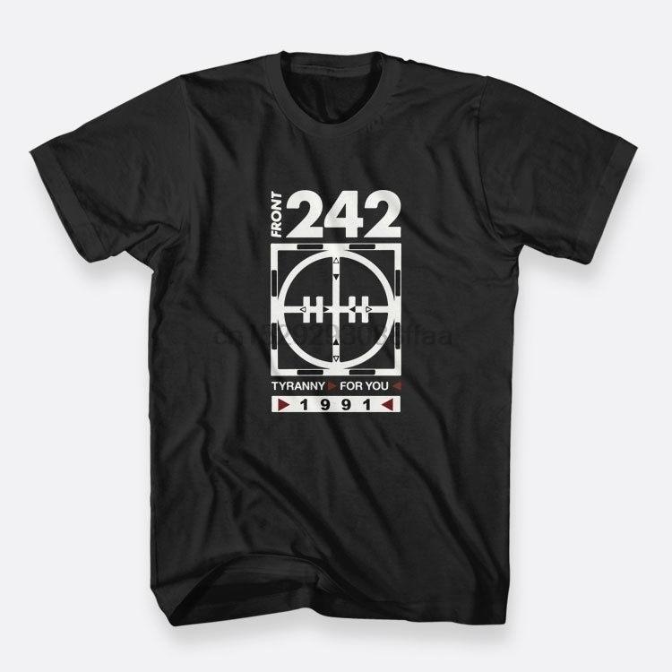 Parte delantera 242 tironny para usted hombres Cosuol Tops Camiseta de algodón