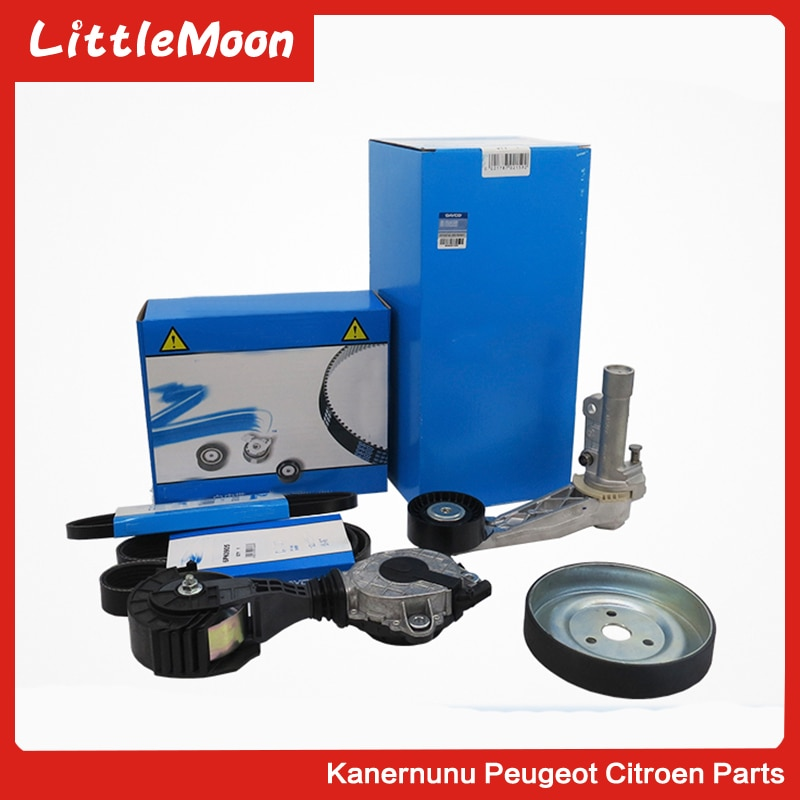 Original generator belt water pump wheel tensioner Dayco  for Peugeot 207 308 408 508 3008 Citroen C3 C4 C5 ds4 ds5 DS3
