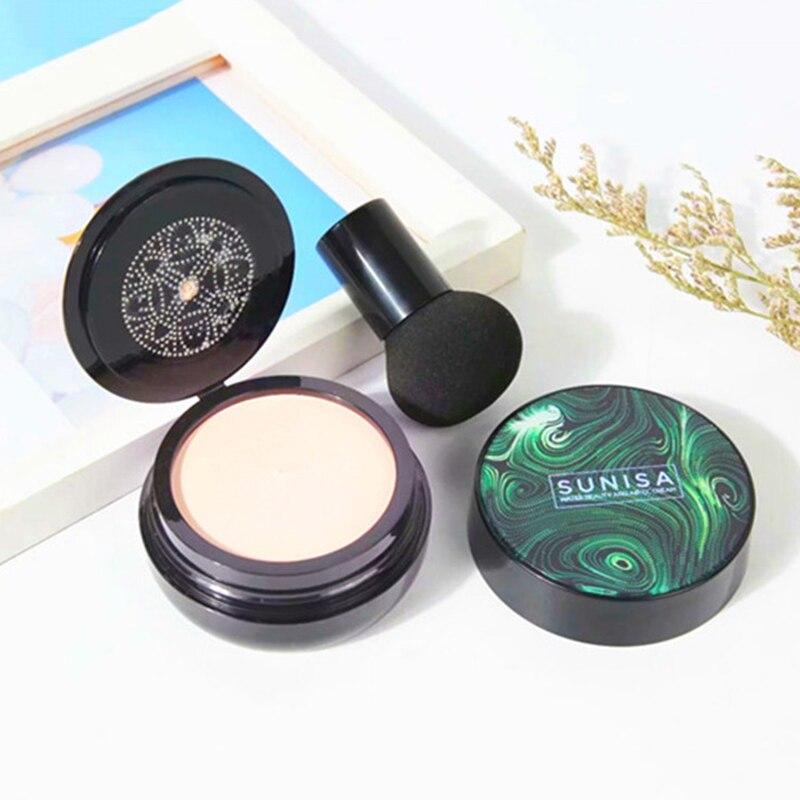 Cabeza de hongo cojín de aire crema BB hidratante-permeable al aire Maquillaje facial Natural corrector de brillo