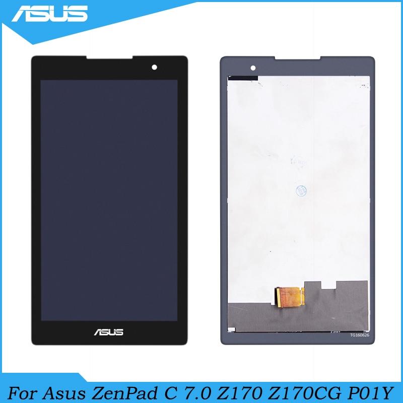 Para Asus ZenPad C 7.0 Z170 Z170CG P01Y Display LCD Toque Reparação Assembléia Tela Parte Para Asus Z170CG tela LCD