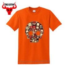 Film dhalloween sanglant Lil horreurs T-shirt hommes tueur jason voorhees T-shirt effrayant chibi Freddy T-shirt vendredi le 13th T-shirt