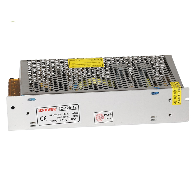 Switching Power Supply Light Transformer AC 110V 220V To DC 12V 5A 10A 15A 20A Power Supply Source Adapter For Led Strip CCTV enlarge