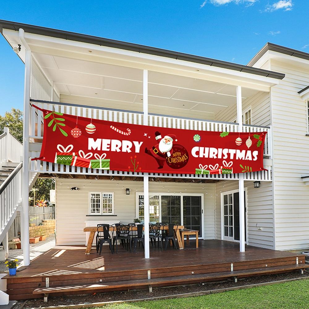 Cartel decorativo de decoración navideña, Feliz Navidad, cartel tejido, Año Nuevo 2021, suministros de decoraciones para fiestas