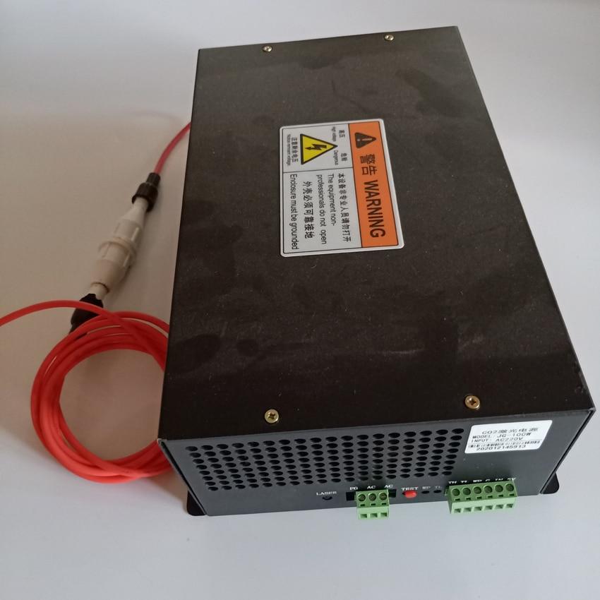 CO2 آلة القطع بالليزر النقش بالليزر امدادات الطاقة 40 واط 50 واط 60 واط 80 واط 100 واط 130 واط 150 واط