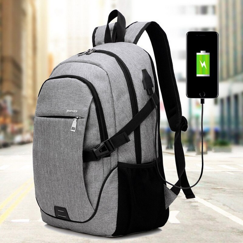 Male Backpack Bag Brand 15.6 Inch Laptop Notebook Mochila For Men Waterproof Back Pack Bag School Ba