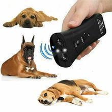 GloryStar Ultrasonic Double-headed Dog Repeller Anti Barking Device Dog Taining Repeller