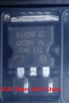 Original 100% NEW B120NF10  STB120NF10T4  STB120NF10  120NF10  D2PAK  5PCS/LOT