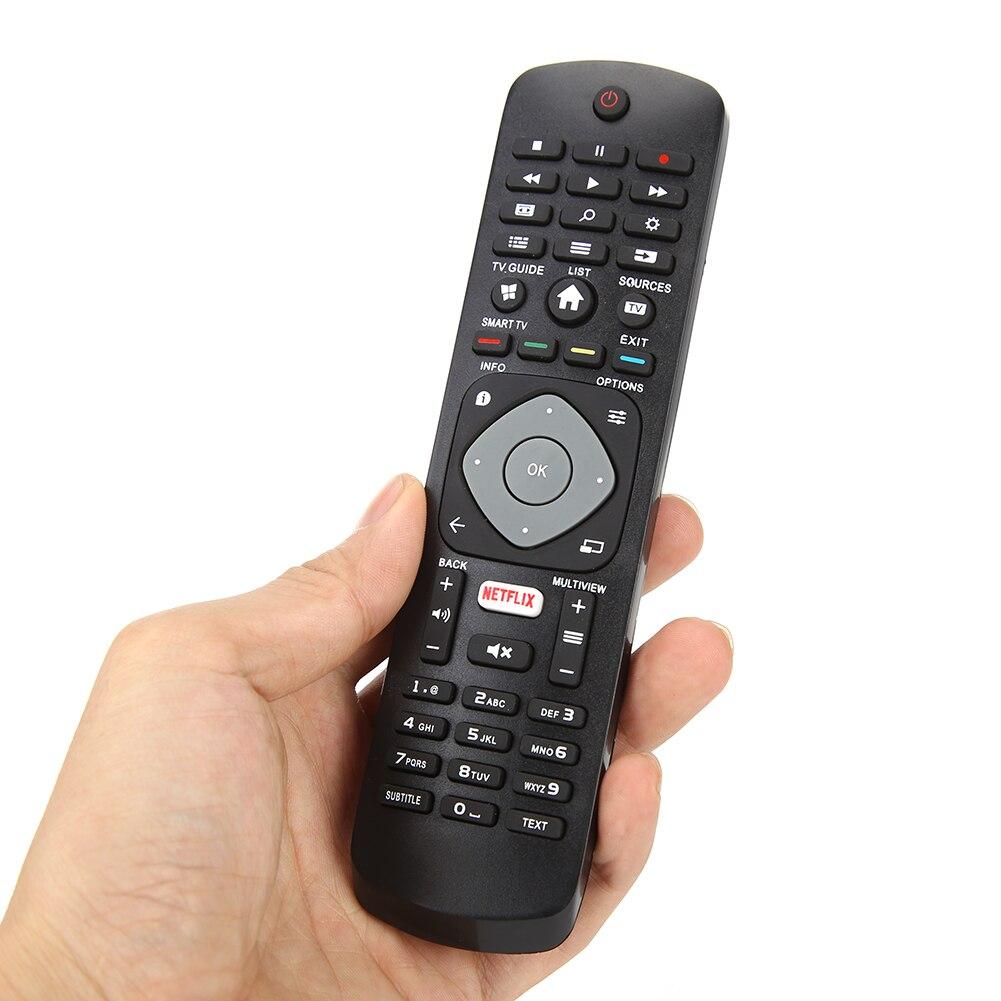 Controle para televisão doméstico, acessórios de substituição para controle remoto ir para tv philips smart tv