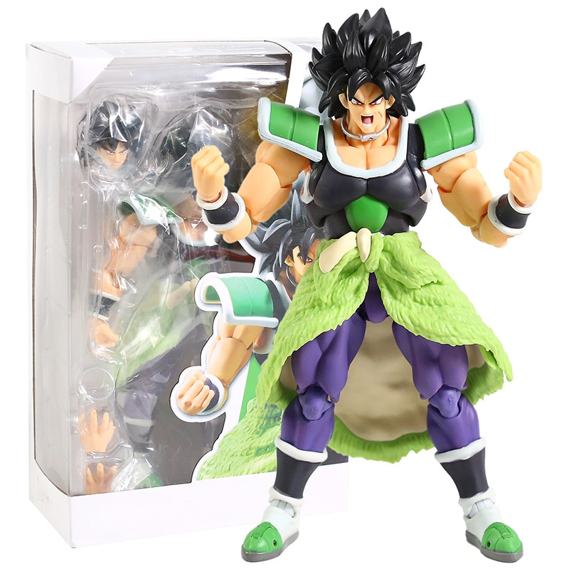 New Anime BROLY Super Modeling Action BROLY Action Figure Collect Toy And Gift