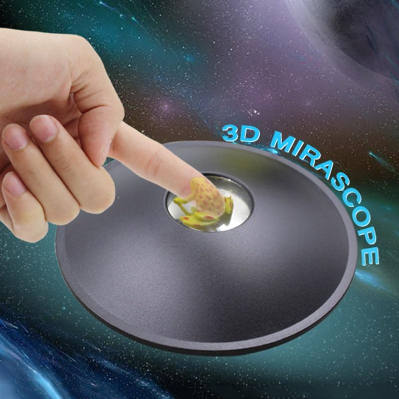 3d espejo mágico vista ilusión creador fantasma negro holograma de Reflector DAG-barco
