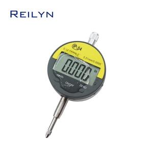 water-proof display dial Indicator 0-0.5inch 0.01mm 0.001mm LCD electronic digital dial indicator dial gauge centigrade gauge