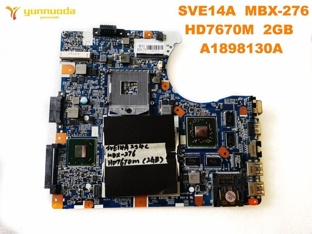 الأصلي لسوني MBX-276 اللوحة المحمول SVE14A MBX-276 HD7670M 2GB A1898130A اختبار جيد شحن مجاني