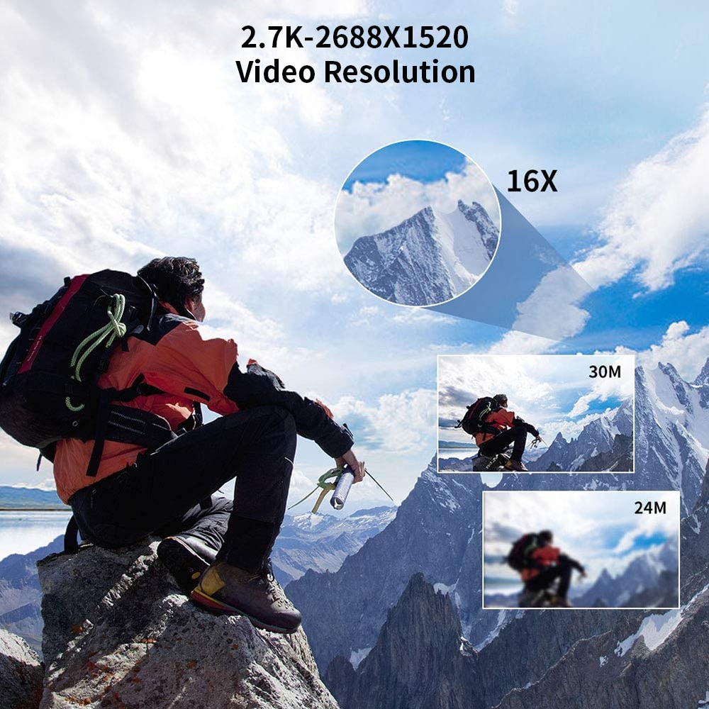 Video Camera WiFi 2.7 k Vlogging Camcorder For Youbute Touch Screen 30MP 16X Digital Zoom Factory Handycam enlarge