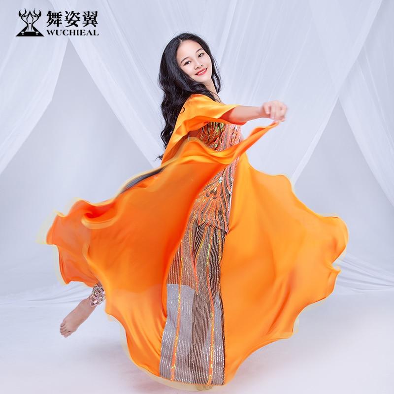 Kids girls Belly Dance Performance Costume dress Oriental Indian Dancing Stage Wear RT503