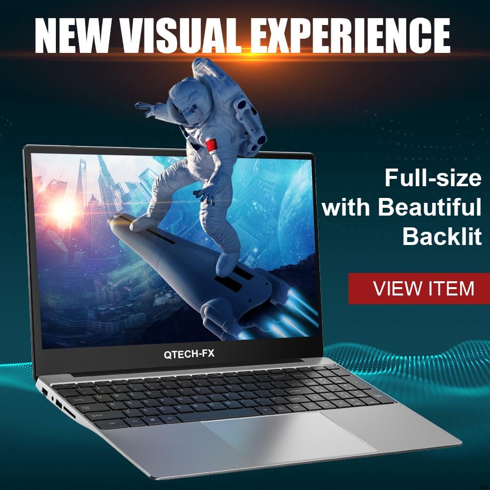Promo 15.6″ Laptop Core i7 16GB RAM 256G SSD +1000GB HDD Windows 10 Game Office Arabic Hebrew AZERTY Spanish Russian Keyboard Backlit