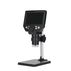 1-1000X Zoom  10MP 1808P Digital Microscope For Circuit Board Inspection Handheld Endoscope 4.3Inch Otoscope Borescope Camera