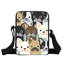 Staffordshire Bull terrier/berger allemand sac de messager Bulldog femmes sac à main garçons filles Mini croix sacs enfants cadeau livre sacs