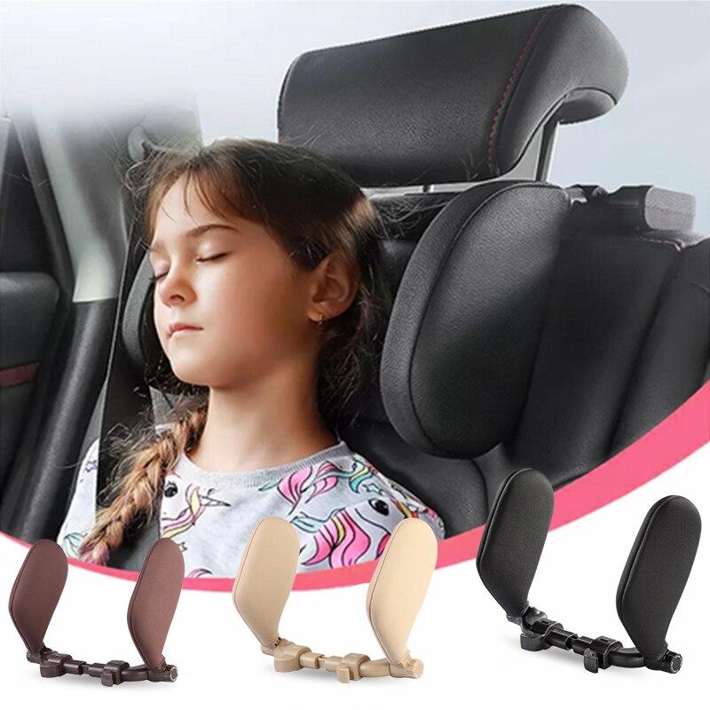 Автомобильная подушка на подголовник для шеи, Автомобильная подушка на подголовник для сна, поддержка боковой головы, Автомобильная подушк...