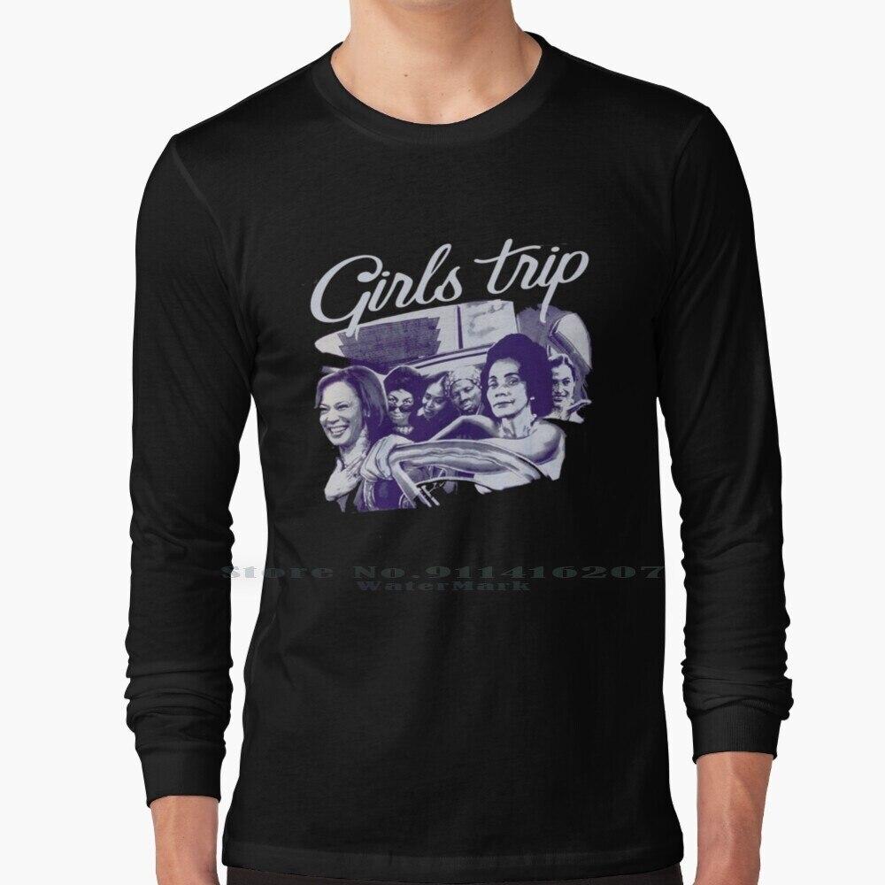 Girls Trip , Kamala Harris T Shirt 100% Pure Cotton Election Politics Trump Republican Kamala Harris 2016 Usa America Biden