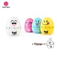 fghgf creative egg timer 60 minutes cute cartoon kitchen cooking clock alarm mechanical home decor hourmeter