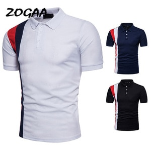 ZOGAA 2021 New Men's Summer Men's New Men's Plus Size Fashion Short Sleeve Polo Shirt Wild Simple