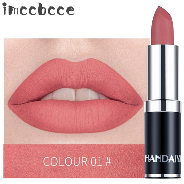 12 Colors Matte Lipstick Lips Makeup Waterproof Long Lasting Velvet Sexy Lip Stick Lip Gloss Women Lip Tint Cosmetics Maquillage