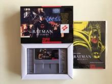 Jeux 16Bit ** Batman revient (Version USA!! Boite + manuel + cartouche!!)