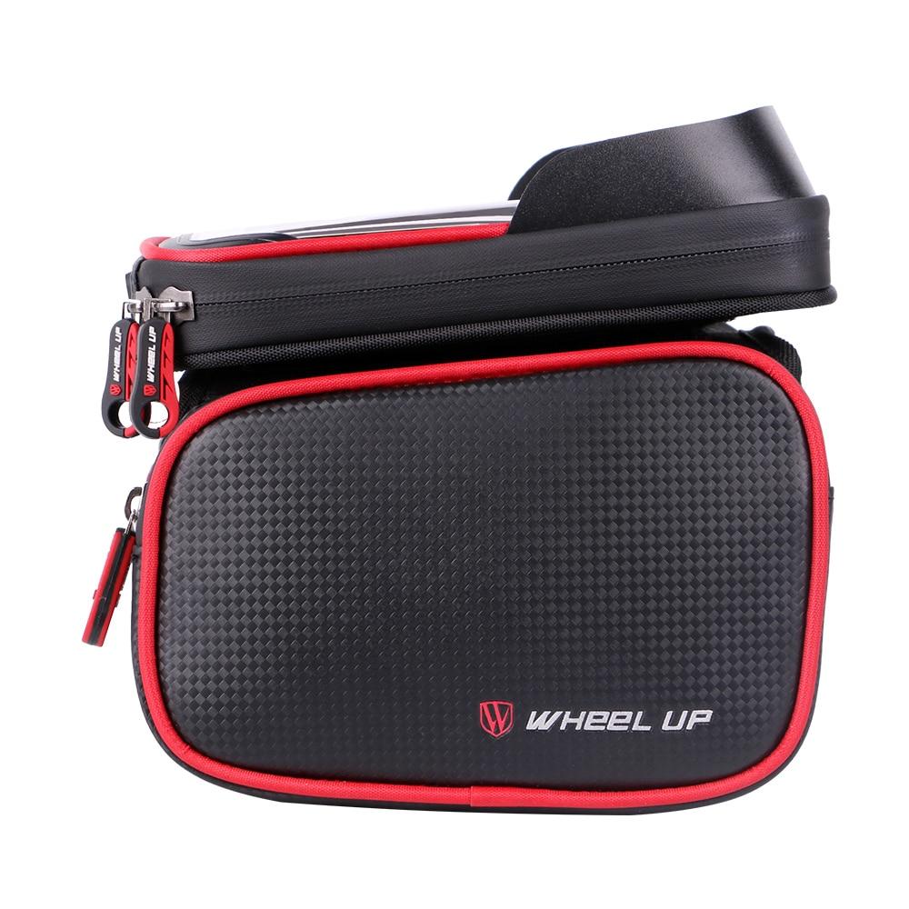 Тачка велосипедная сумка верхняя труба сумка анти-брызг горный велосипед Передняя балка сумка Мобильный телефон сумка для верховой езды су...