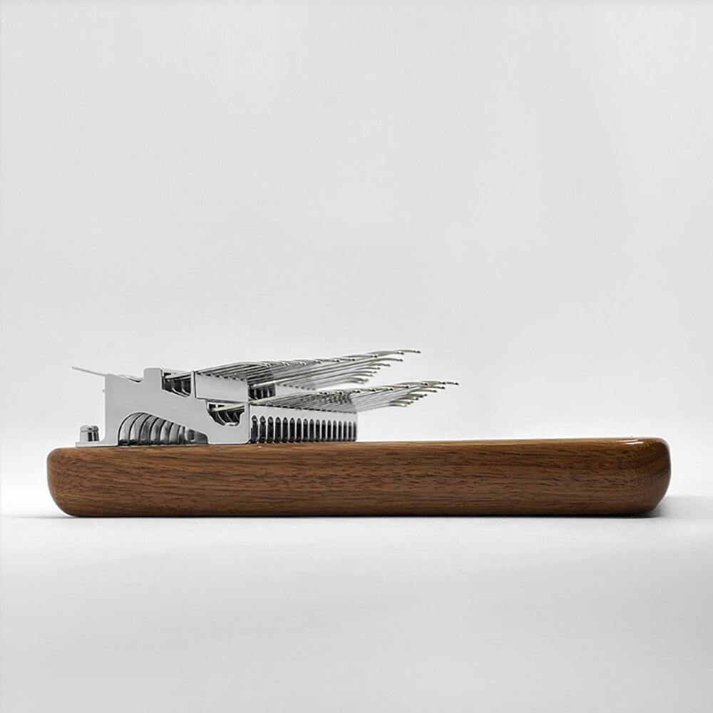 Chromatic Kalimba 34 Key Double Layer Thumb Finger Piano Black Walnut Mbira Keyboard Musical instrument Gift Accessories enlarge