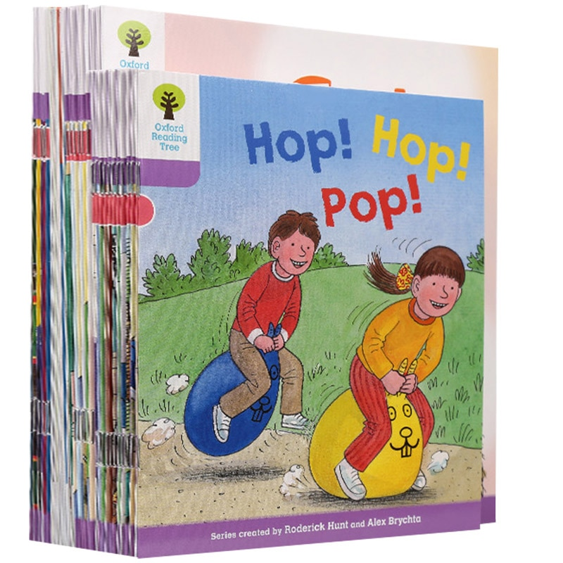 30 books /set Oxford Reading Tree L1+ Natural Phonics English story Picture book  hand book New Hot