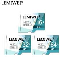 Carte TF haute vitesse 64GB 32GB 16GB classe 10 carte mémoire UHS-I carte de stockage de carte Flash Trans pour Smartphone