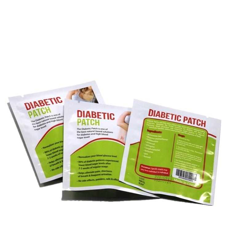 18 pieces=3 bags Blood Glucose Patch Stabilizes Blood Sugar Level Balance Ease Diabetic Plaster