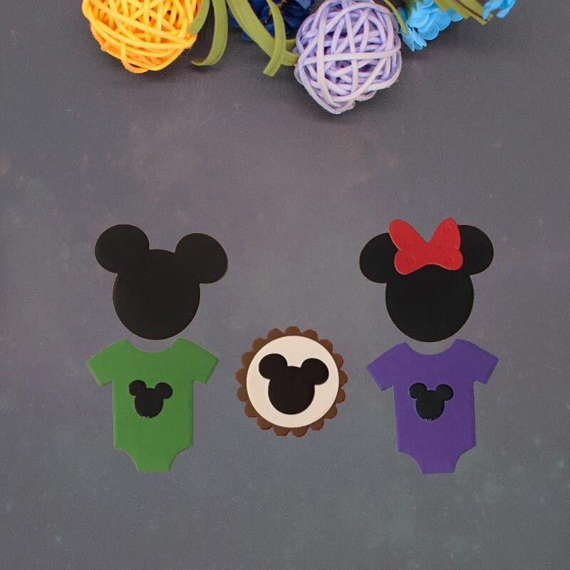 Mickey nouvelles matrices de découpe en métal   Pochoirs pour bricolage, Scrapbooking cartes en papier, fabrication artisanale de décoration artisanale