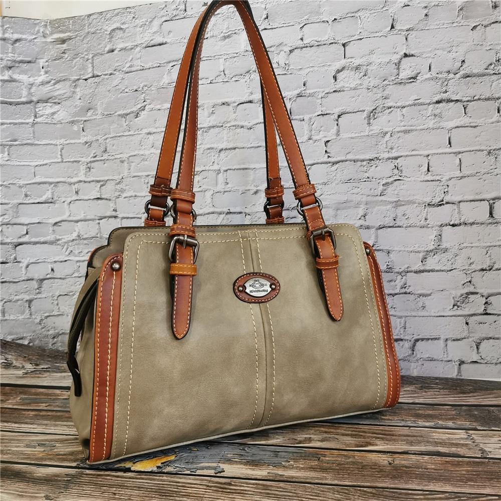 Vintage Handbag Designer Women's Leather Handbags for Women Tote New Luxury Ladies Hand Shoulder Bags 2020 High Quality Purse